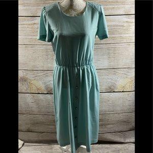 Women's Vintage Blue Dress